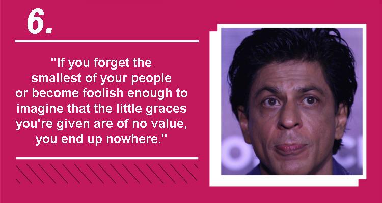 Shah Rukh Khan IANS photo InUth quote temp
