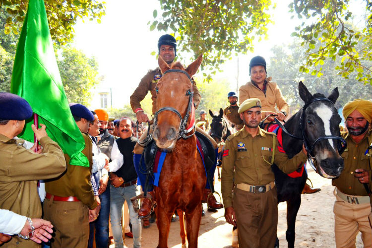 First mounted police squad in J&K to keep a check on crime in Udhampur