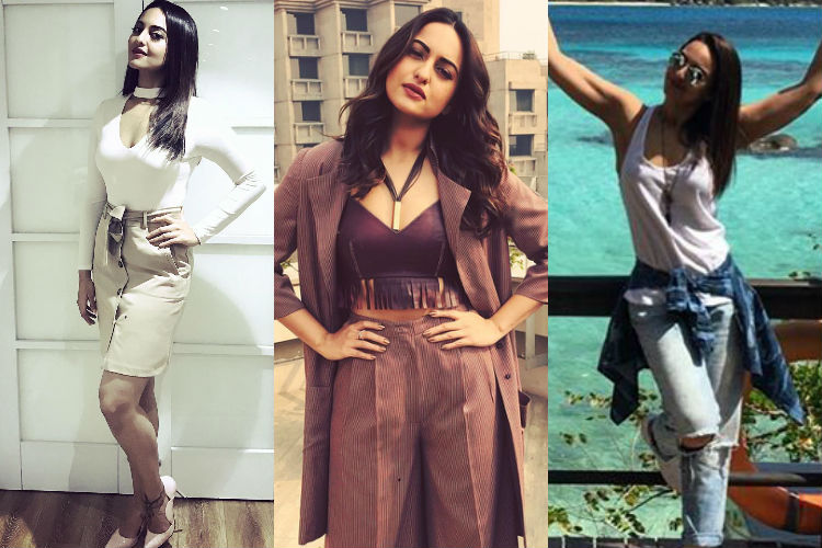 Fab to fit: These hot photos of Sonakshi Sinha will certainly inspire you to opt for weight loss regime