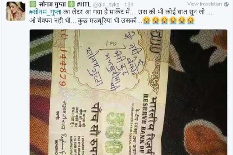 Sonam Gupta, social viral
