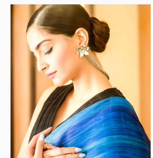 sonam-kapoor-simple-bun-insta-photo-for-inuth