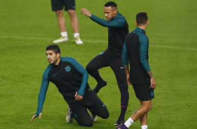 Luis Suarez and Neymar