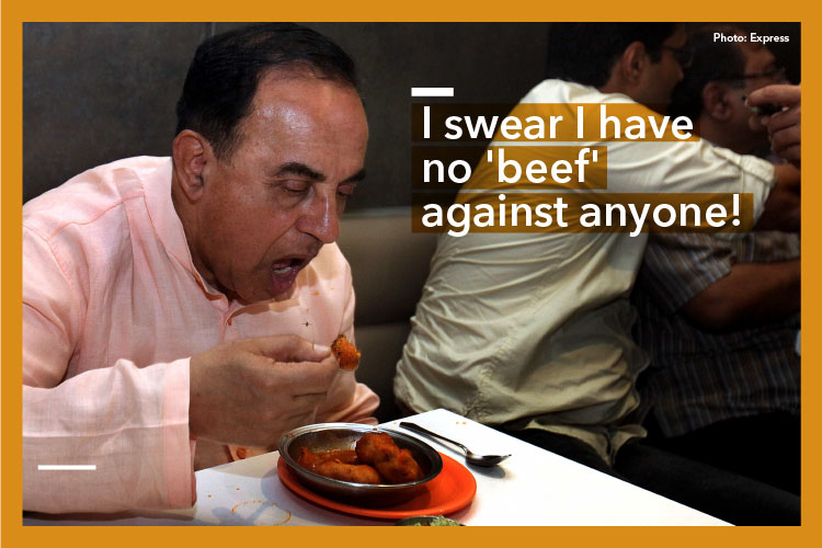 7 times Subramanian Swamy made us LOL with his bizarre conspiracy theories
