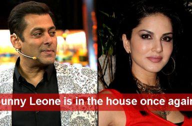 Sunny Leone IANS, Salman Khan Colors TV photo for InUth.com