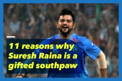11 reasons that prove Suresh Raina is a gifted southpaw