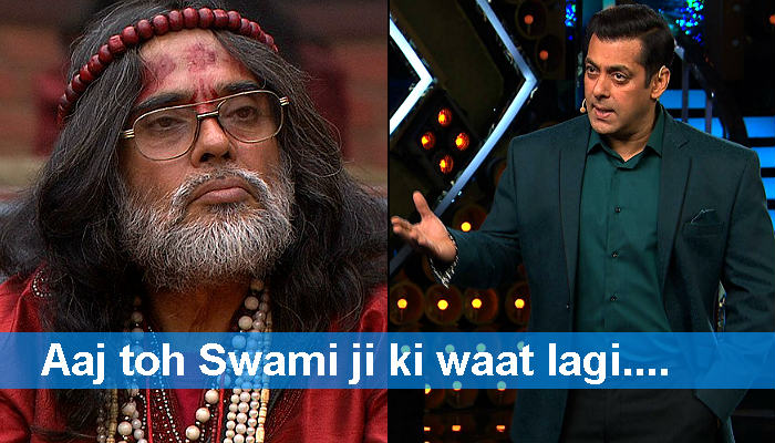 Bigg Boss 10: Salman Khan to grill sexist Swami Om tonight. Justice prevails!
