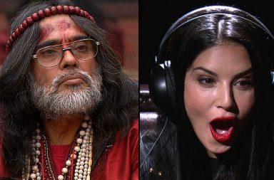 Swami Om Sunny Leone in Bigg Boss 10 Colros TV photo for InUth.com