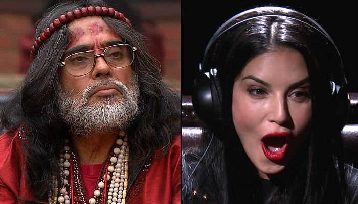 Swami Om Sunny Leone in Bigg Boss 10 Colros TV photo for InUth.com