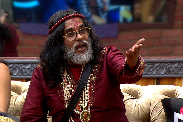 Swami Om in Big Boss 10 Colors TV photos for InUth.com