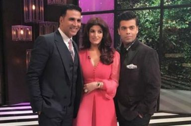 Twinkle Khanna Akshay Kumar Koffee With Karan | Instagram Image For InUth.com