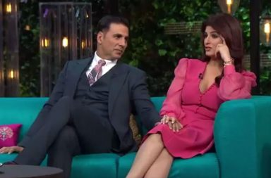 Twinkle Khanna Akshay Kumar Koffee With Karan | Twitter Image For InUth.com