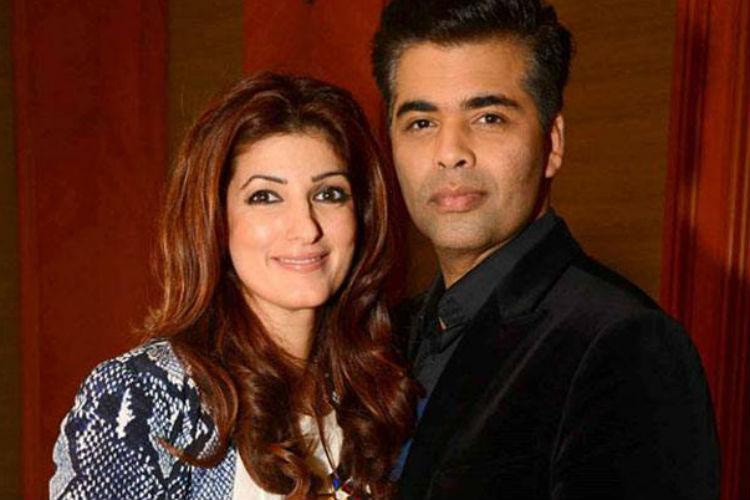 Twinkle Khanna Karan Johar | Express Archive Image For InUth.com
