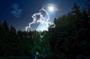 UFO, alien,