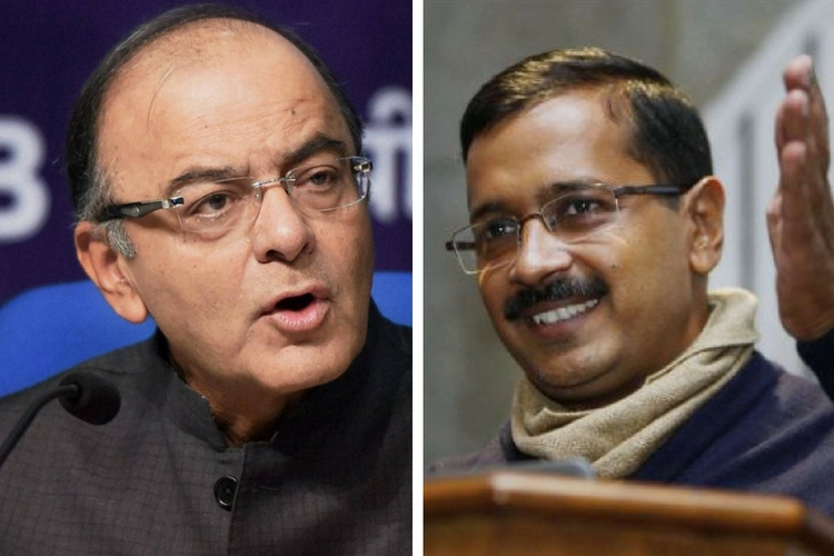 Arun Jaitley says Kejriwal is 'factually incorrect', the Delhi CM hits back