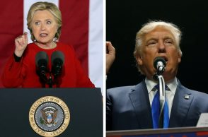 Hillary Clinton, Donald Trump, US Presidential elections 2016