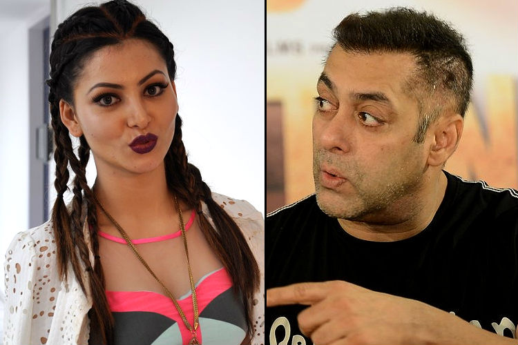 What is Salman Khan-Urvashi Rautela's mysterious association?