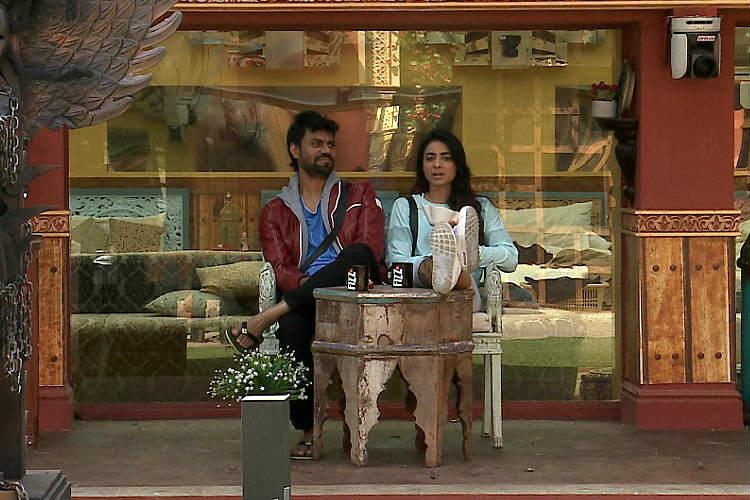 VJ Bani and Gaurav Chopra in Bigg Boss 10 Colors TV photo for InUth.com