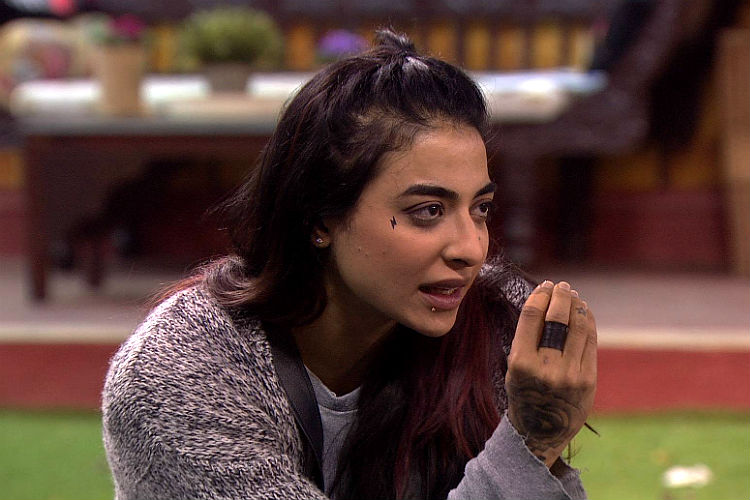 VJ Bani in Bigg Boss 10 Colors TV photo for InUth.com