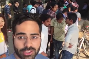 Delhi University, Narendra Modi, demonetisation