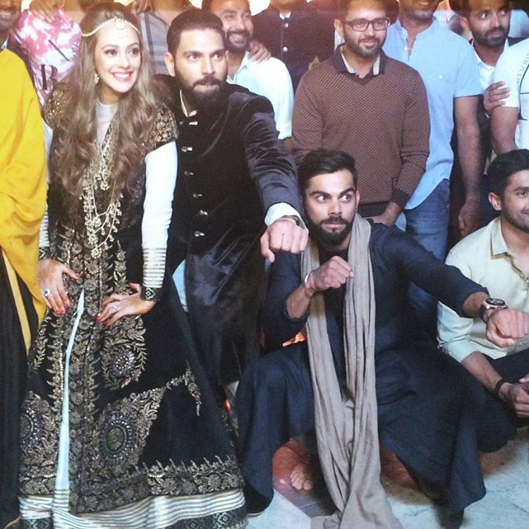 Yuvraj Singh, Hazel Keech marriage