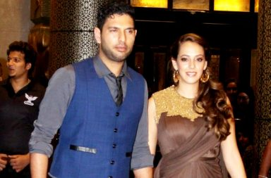 Yuvraj Singh and Hazel Keech IANS photo for InUth.com