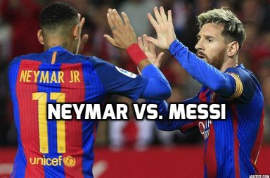 Messi, Neymar, football