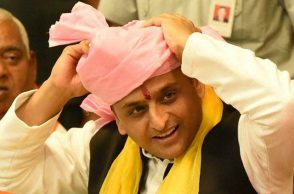 File photo of Akhilesh Yadav (Photo: PTI)