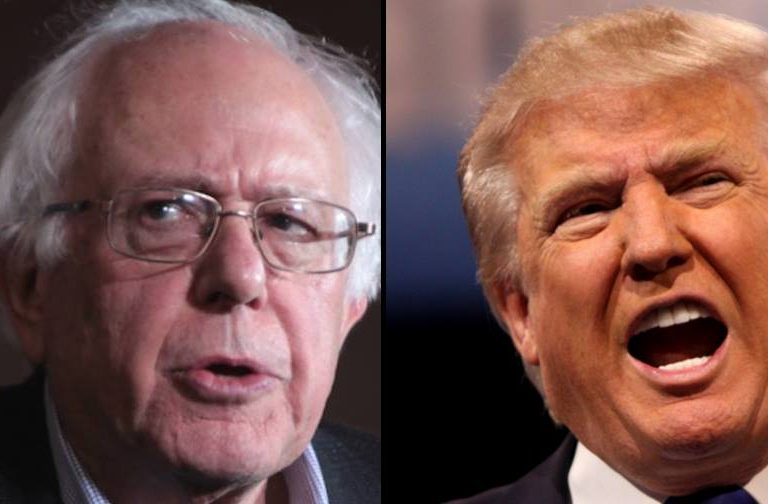 Dear Donald Trump, beware of Bernie Sanders. He is all geared up to fight you