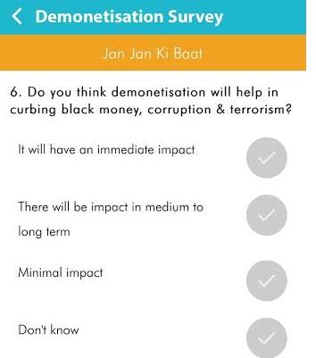 demonitisations-survey