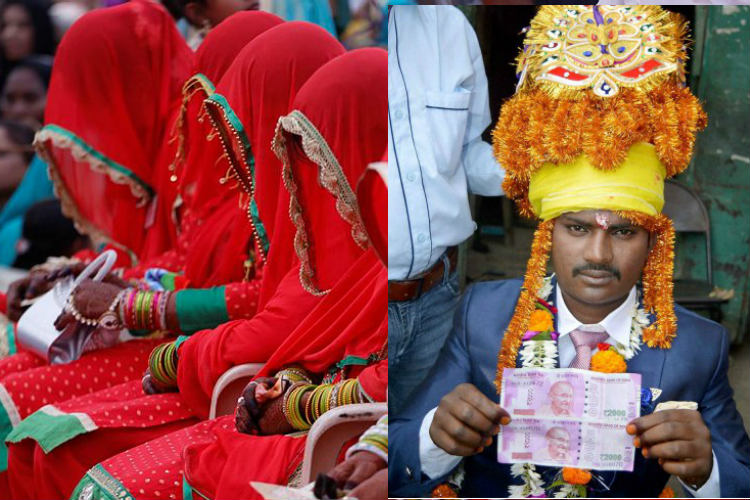 You support dowry system if you slam demonetisation for being anti-wedding. Period