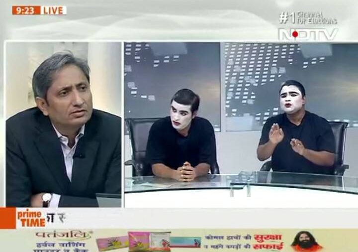 #MustWatch: Ravish Kumar killed it on primetime with silence and subtlety