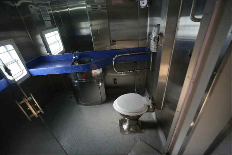 The walls of toilets in these coaches will have gel coating. (Photo: Express/Tashi Tobgyal)