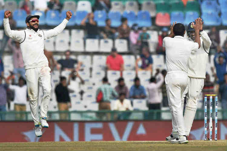 India beat England by eight wickets at Mohali, take unbeatable 2-0 lead