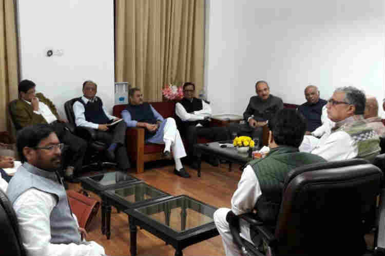 Demonetisation row: Opposition boycotts all-party meet called by Rajnath to break deadlock