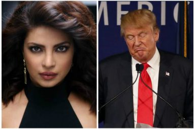 Priyanka Chopra and Donald Trump