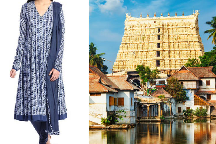 No entry for women wearing churidar, salwar kameez in Padmanabhaswamy temple