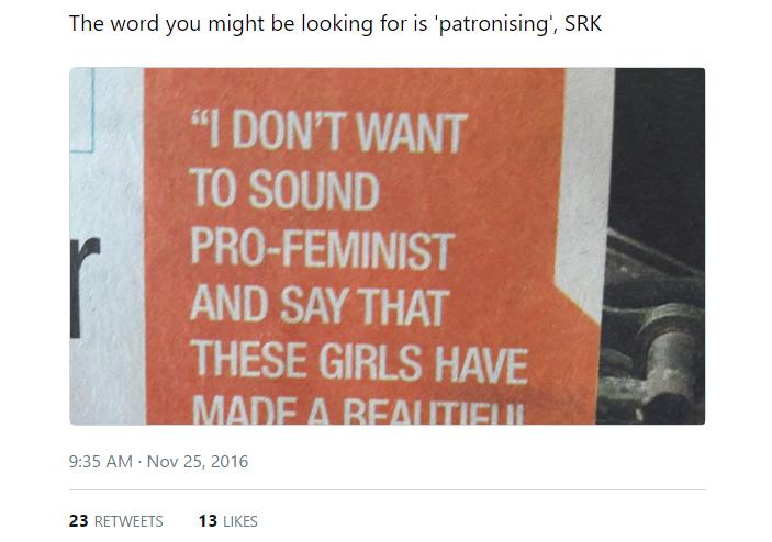 pro-feminism