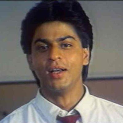 Shah Rukh as Raju in Raju Ban Gaya Gentleman