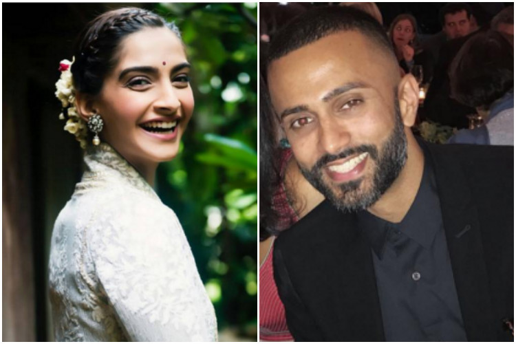 Is that denim jacket a gift of beau Anand Ahuja to Sonam Kapoor?
