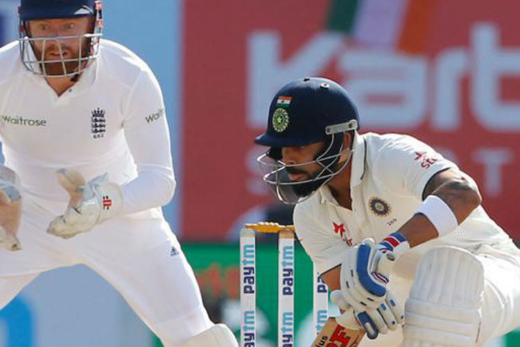 Virat Kohli saves the Test match for India