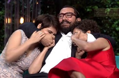 Aamir Khan Facebook video still