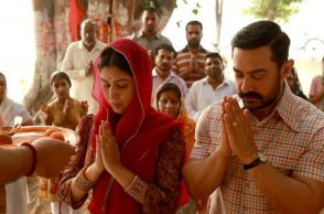 Aamir Khan Sakshi Tanwar in Dangal
