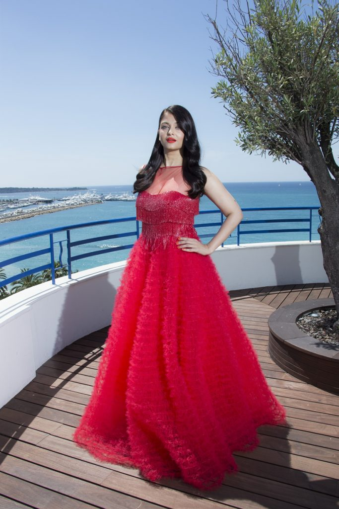 Actress Aishwarya Rai Bachchan poses during portraits at the 69th international film festival, Cannes, southern France, Saturday, May 14, 2016. (AP Photo/Joel Ryan)