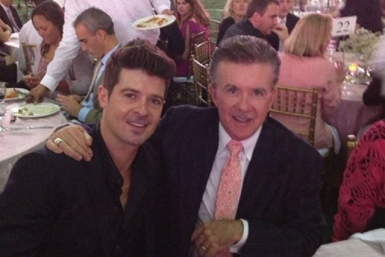 Alan Thicke Robin Thicke | Twitter Image for InUth.com