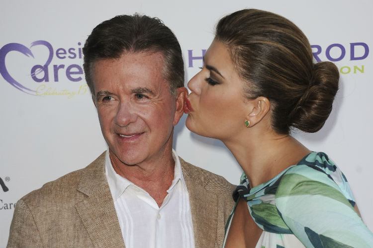 Alan Thicke Wife Tanya Callau | AP Image for InUth.com