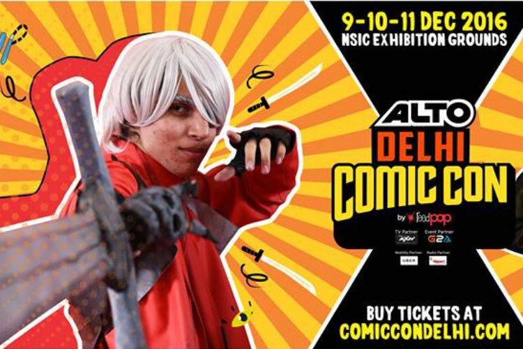Alto Delhi Comic Con 2016 | Facebook Image For InUth.com