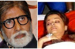 Amitabh Bachchan and Aishwarya Rai