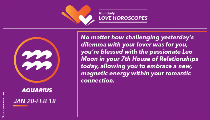Aquarius Love Horoscope | Image for InUth.com