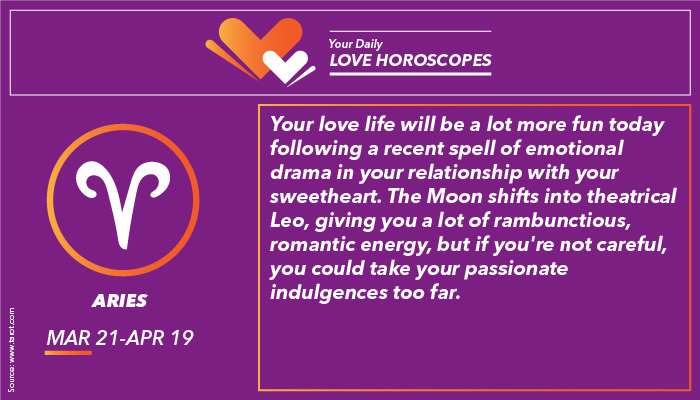 Aries Love Horoscope | Image for InUth.com
