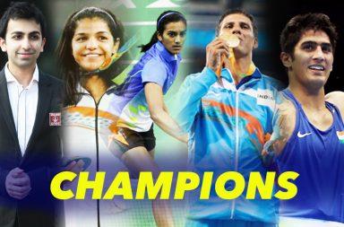 PV Sindhu, Vijender Singh, Sakshi Malik, Pankaj Advani, Devendra Jhajharia
